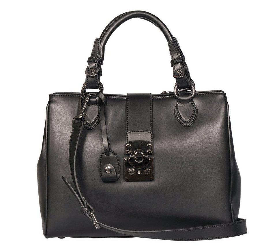 Silvio Tossi Handtaschen in schwarz-kalb
