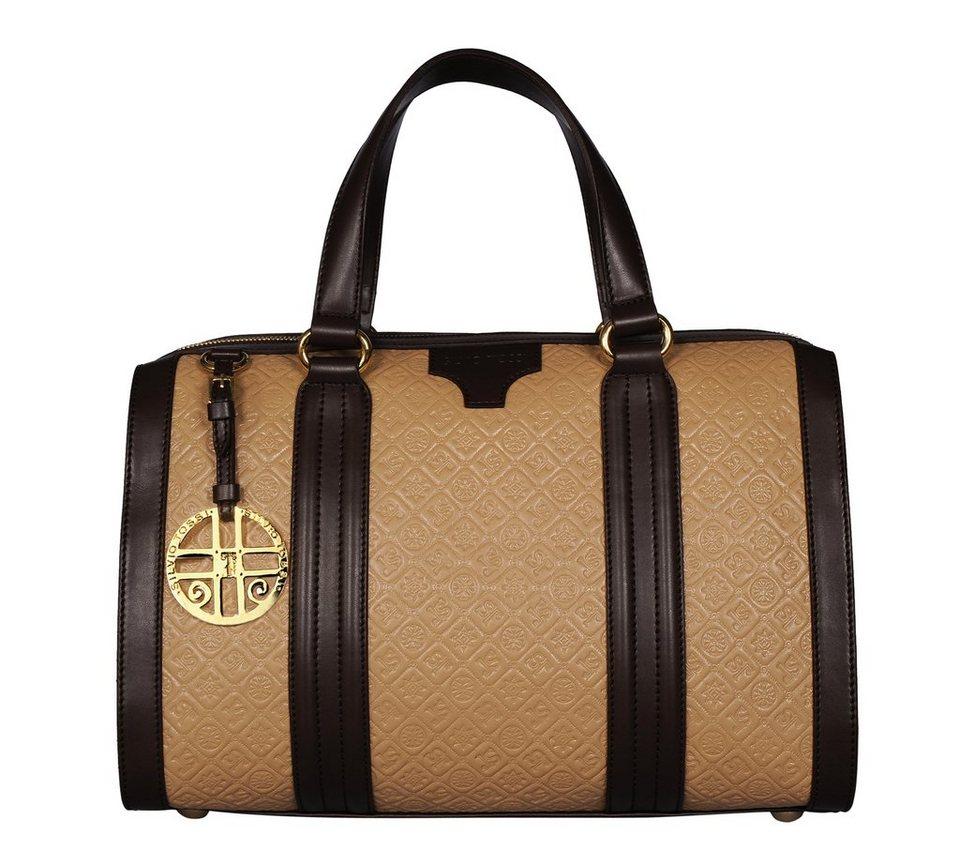 Silvio Tossi Handtaschen in beige-braun