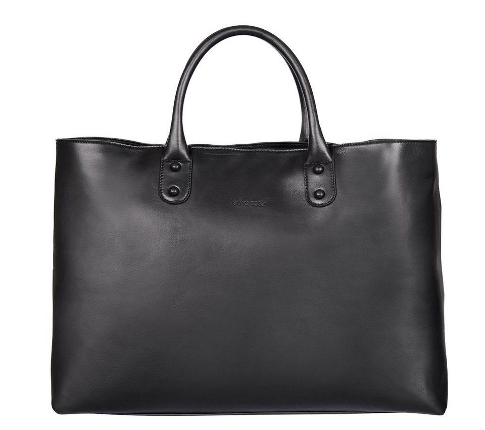 Silvio Tossi Handtaschen in schwarz-rind