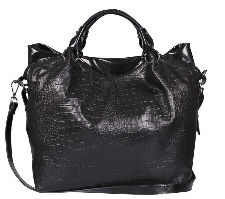 Silvio Tossi Handtaschen in schwarz