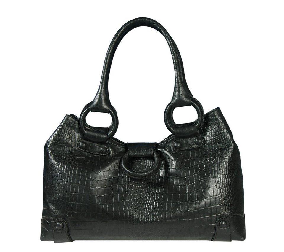 Silvio Tossi Tasche in schwarz