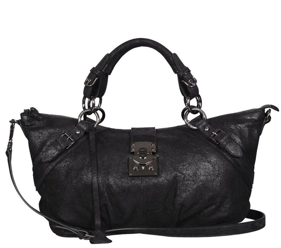 Silvio Tossi Tasche in schwarz-vintage