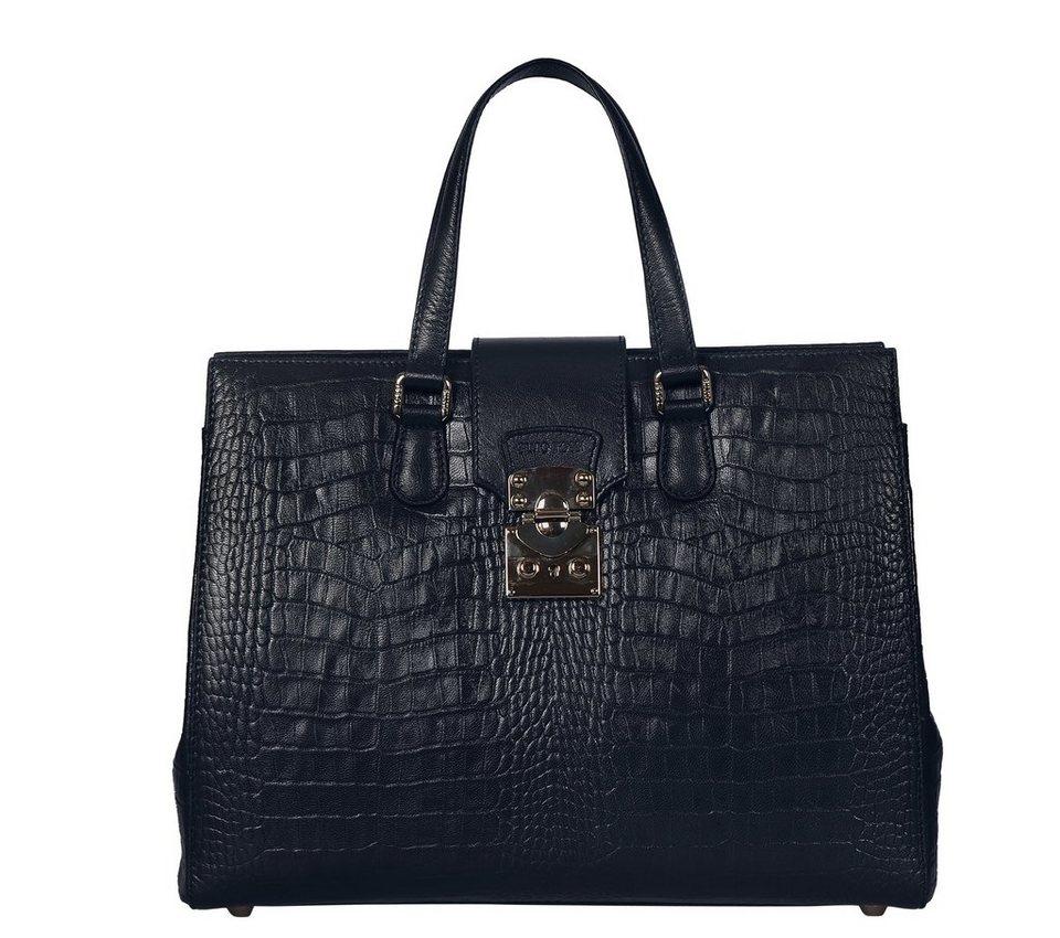 Silvio Tossi Handtaschen in dunkelmarineblau