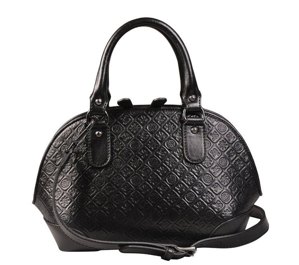 Silvio Tossi Handtaschen in schwarz-tossiprägung