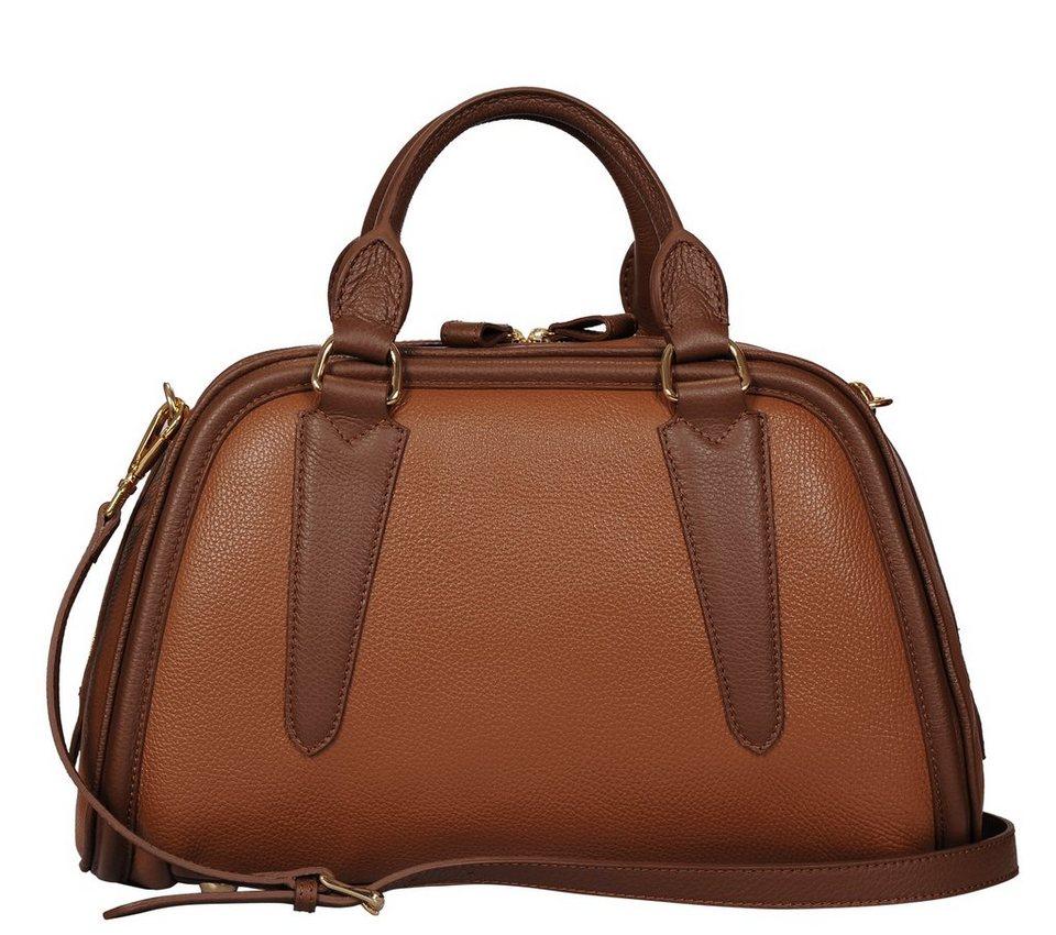 Silvio Tossi Handtaschen in cognac-braun