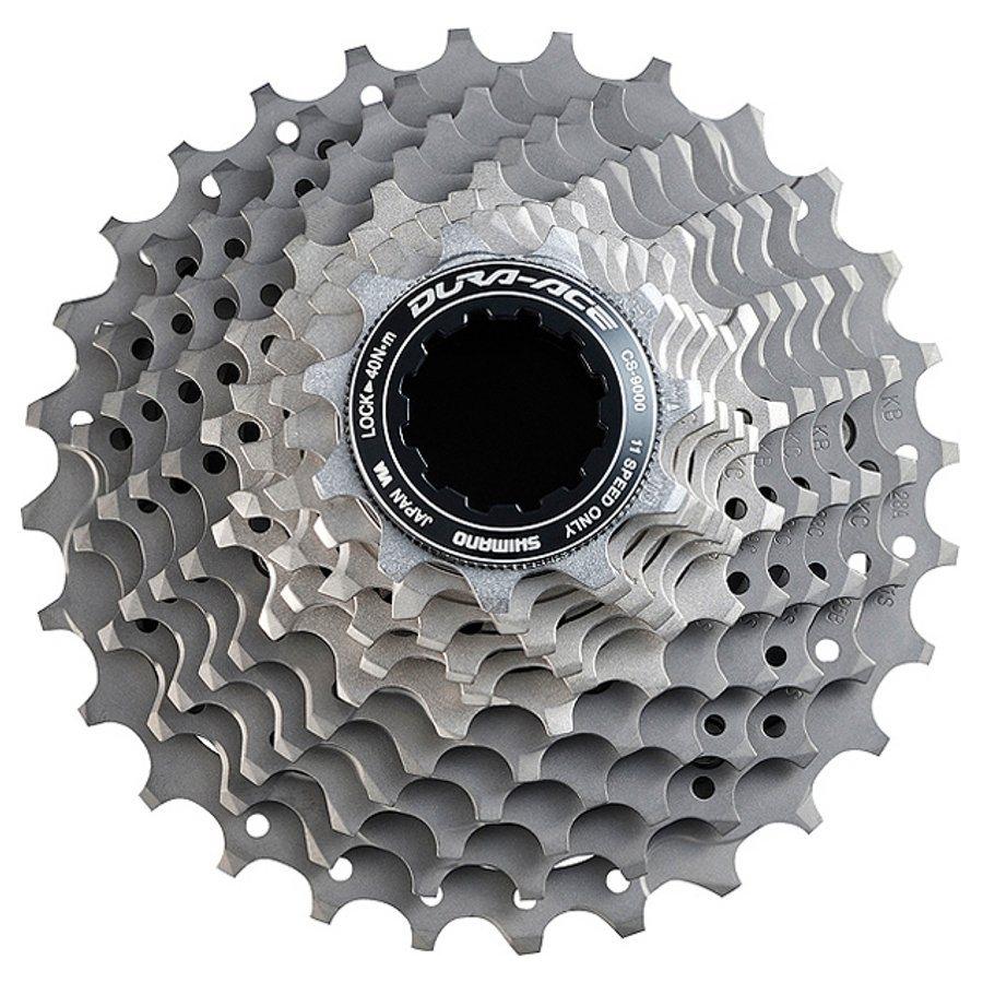 Shimano Fahrradkasetten »Dura Ace CS-9000 Kassette 11-fach, 12-25 Zähne«