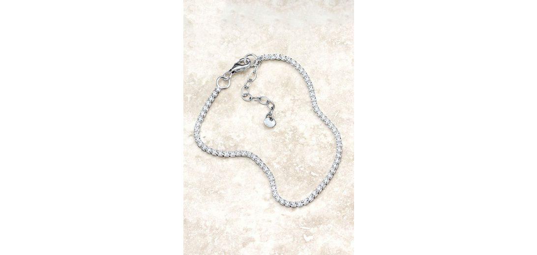 Next Armband aus Sterlingsilber mit Zirkonia
