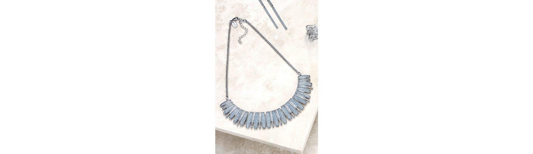 Next Prägnante Halskette mit Glitzerdetail