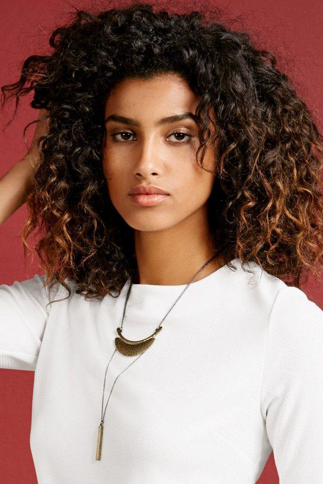 Next Mehrreihige Halskette mit Stabanhänger in Gold