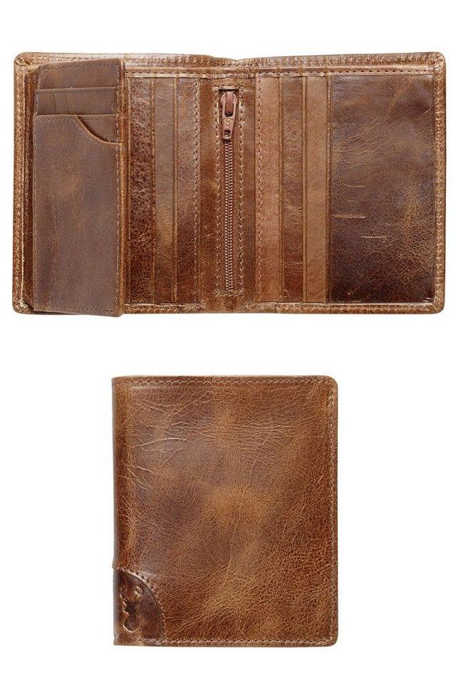 Next Brieftasche aus Leder mit mehreren Kartenfächern in Brown