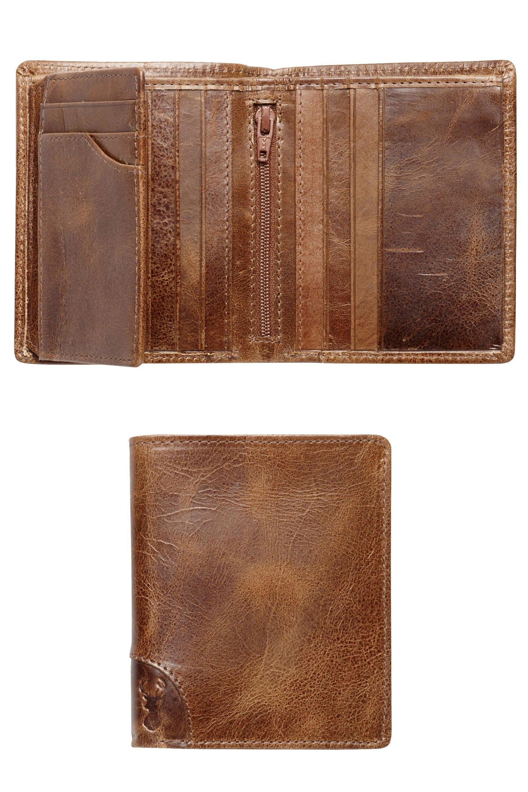 Next Brieftasche aus Leder mit mehreren Kartenfächern