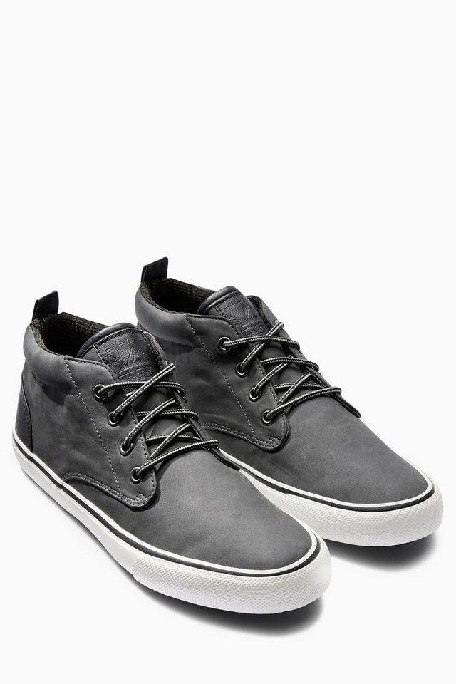 Next Mittelhoher Sneaker in Grau