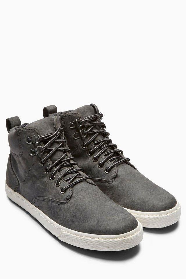 Next Hoher Sneaker in Grau