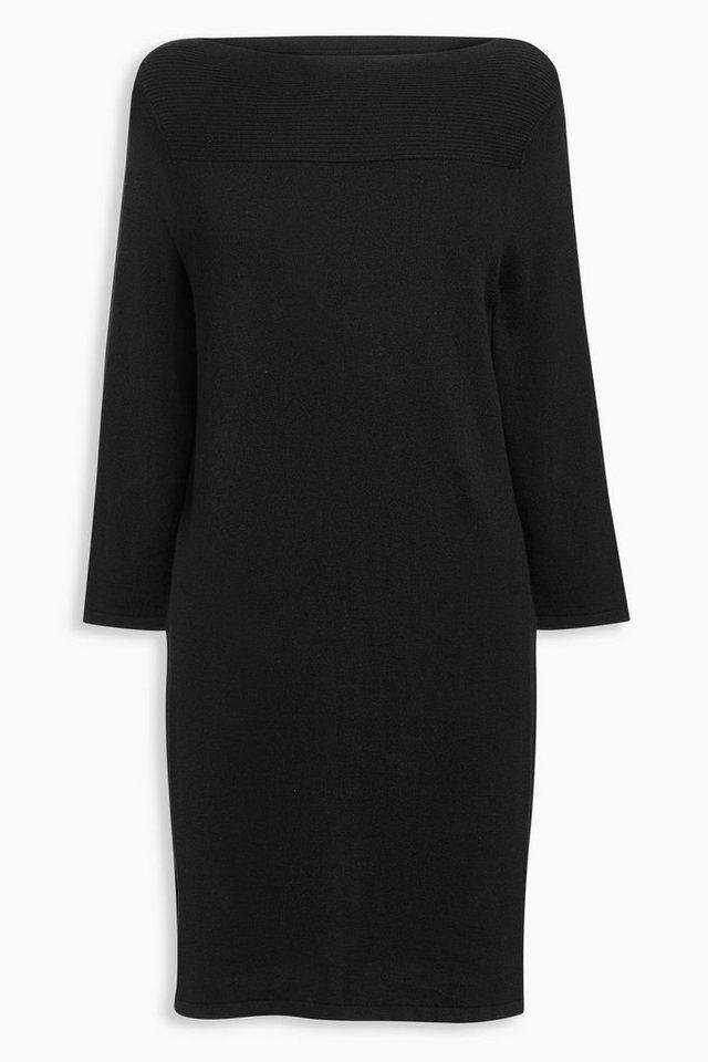 Next Kleid mit U-Boot-Ausschnitt in Schwarz