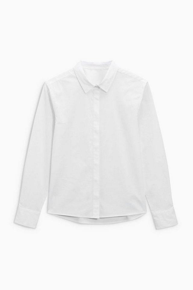 Next Elegante Bluse in Weiß