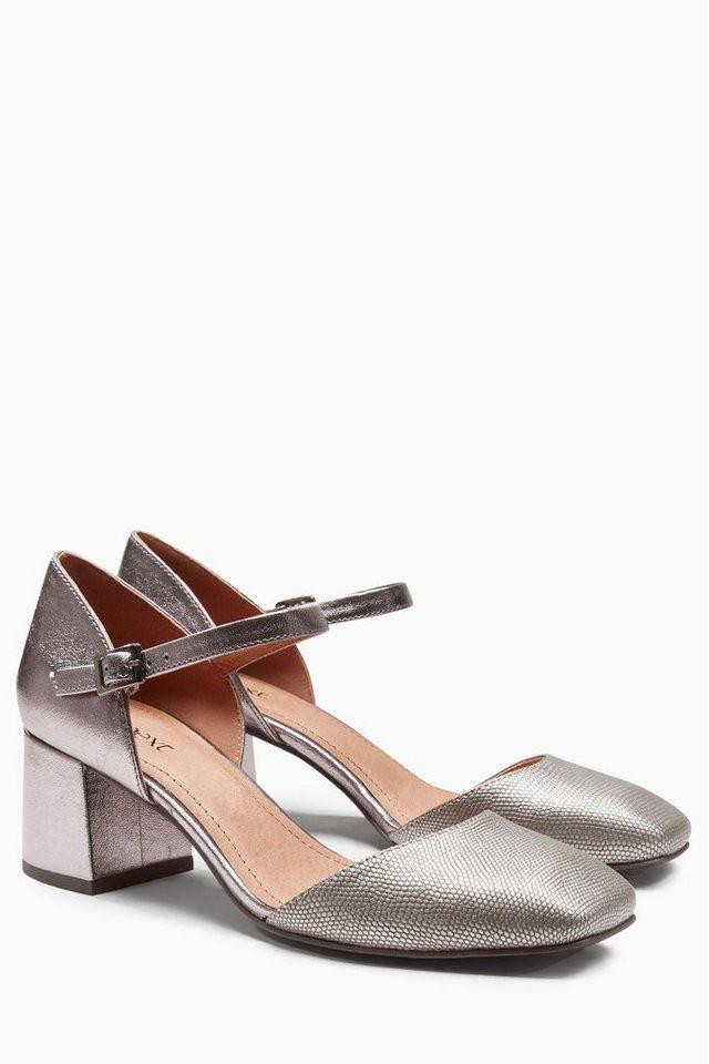 Next Zweiteiliger Dolly-Schuh in Silberfarben