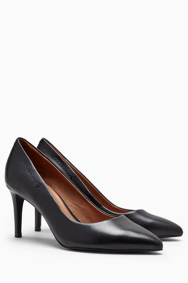 Next Spitzer Pumps aus Leder in Black