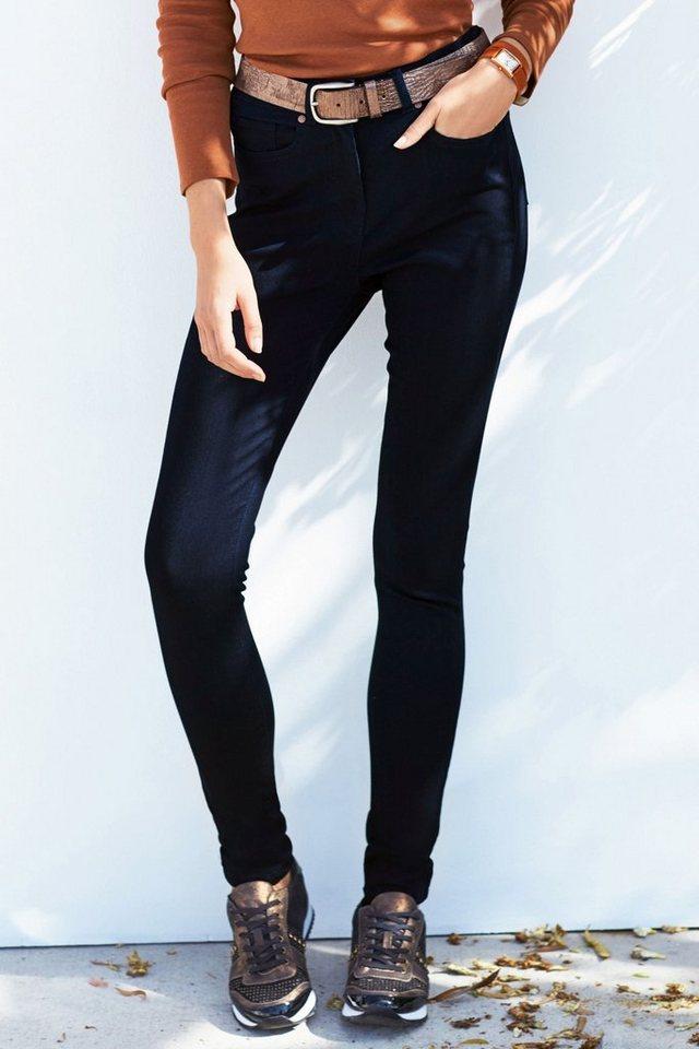 Next Premium Skinny-Jeans aus Modal in Dark Blue