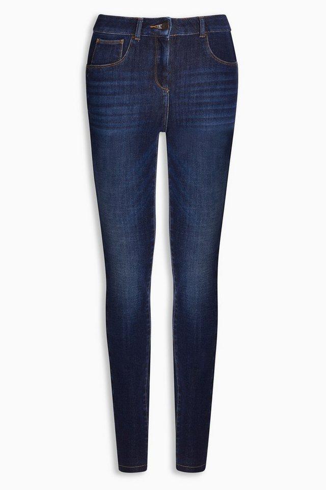 Next Super-Skinny 360-Jeans in Dunkelblau