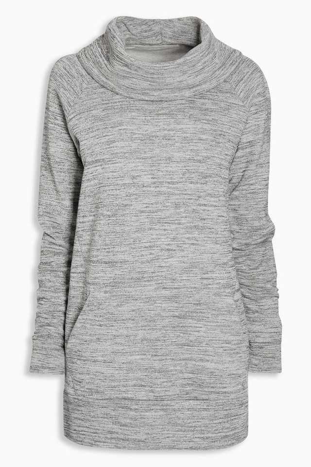 Next Lang geschnittenes Sweatshirt in Grau