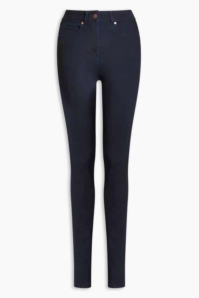 Next Premium Skinny-Jeans aus Modal in Dunkelblau