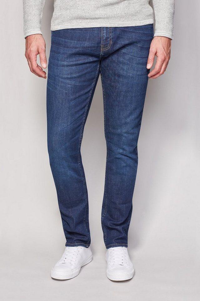 Next Skinny-Fit Mid Wash Stretch-Jeans in Blau Skinny-Fit