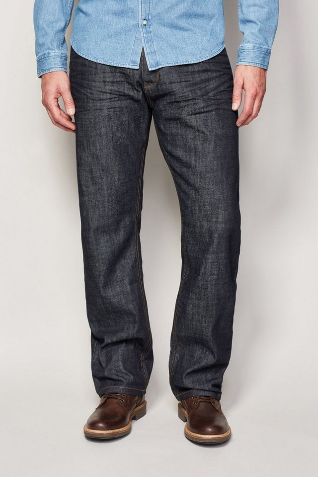 Next Loose-Fit Raw Denim Jeans in Blau Loose-Fit