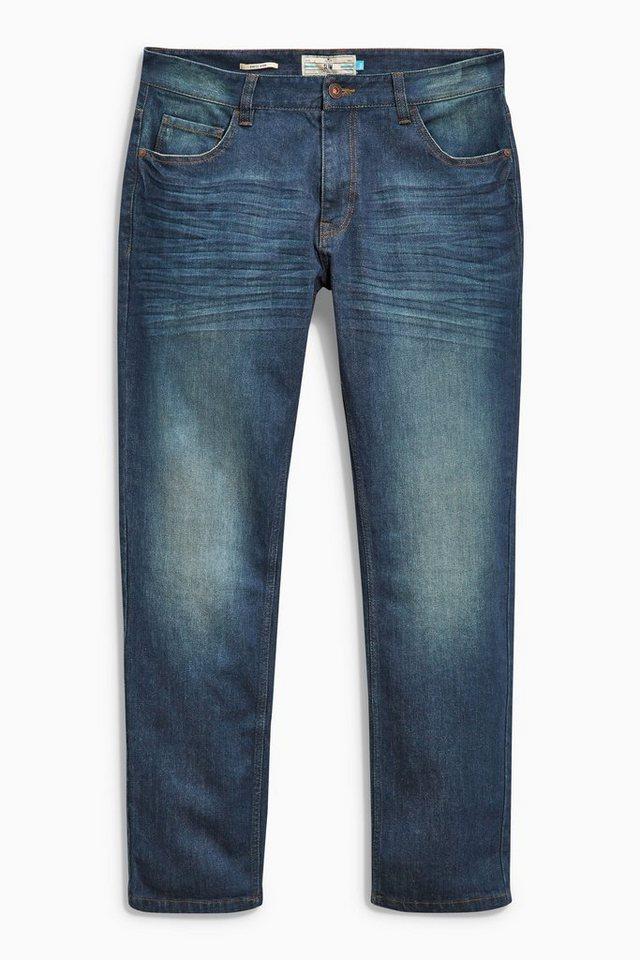 Next Slim-Fit Teal Wash Stretch-Jeans in Blau Slim-Fit