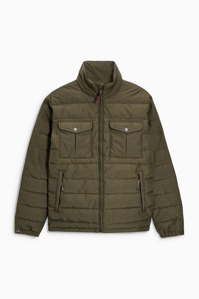 Next Wattierte Jacke in Khaki