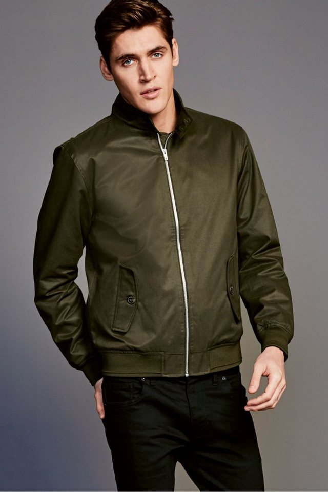 Next Harrington-Jacke in Khaki