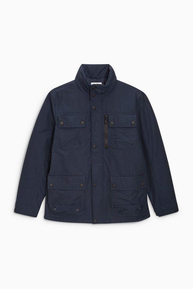 Next Jacke mit Wattierung in Blau
