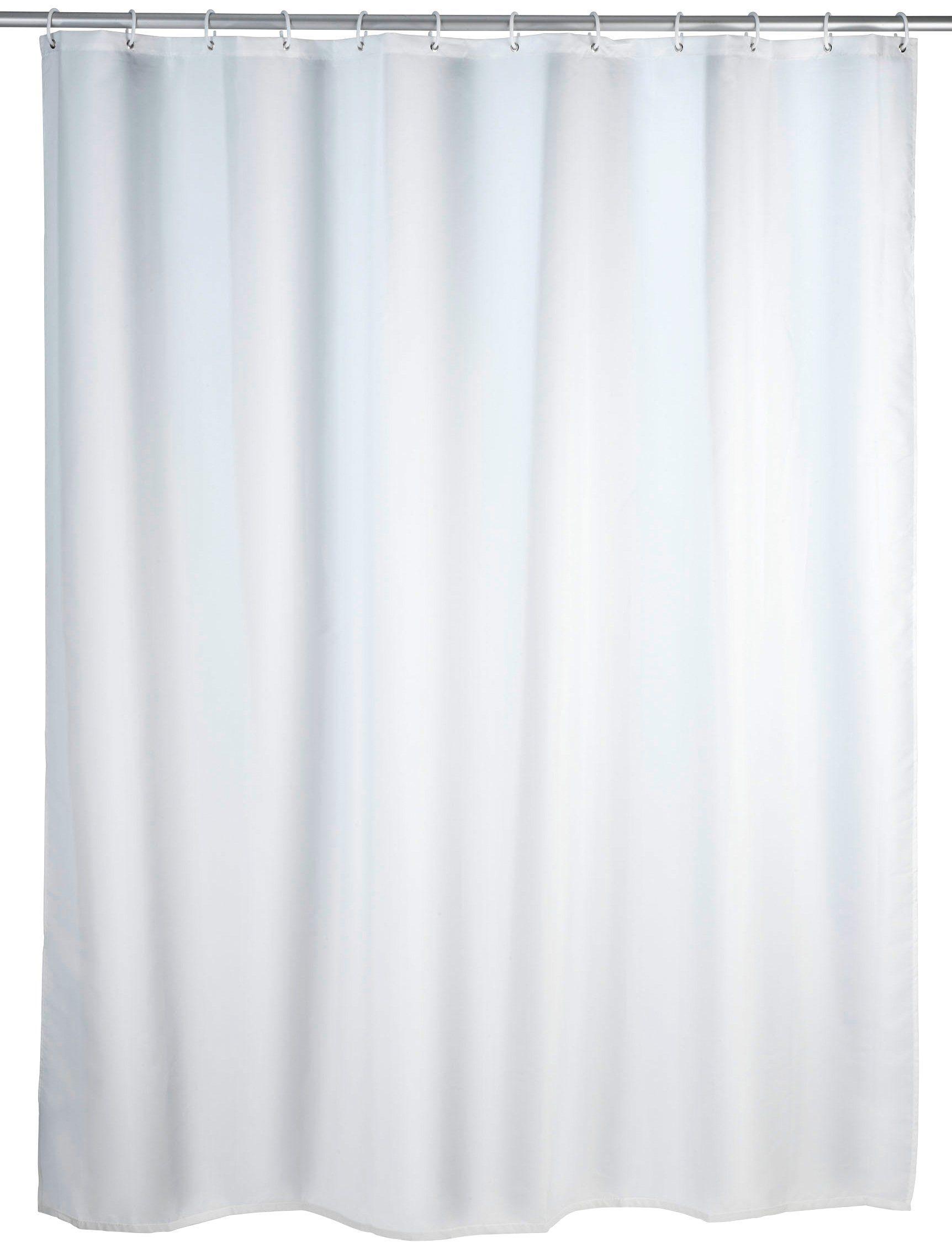 WENKO Duschvorhang »Uni«, Breite 180 cm