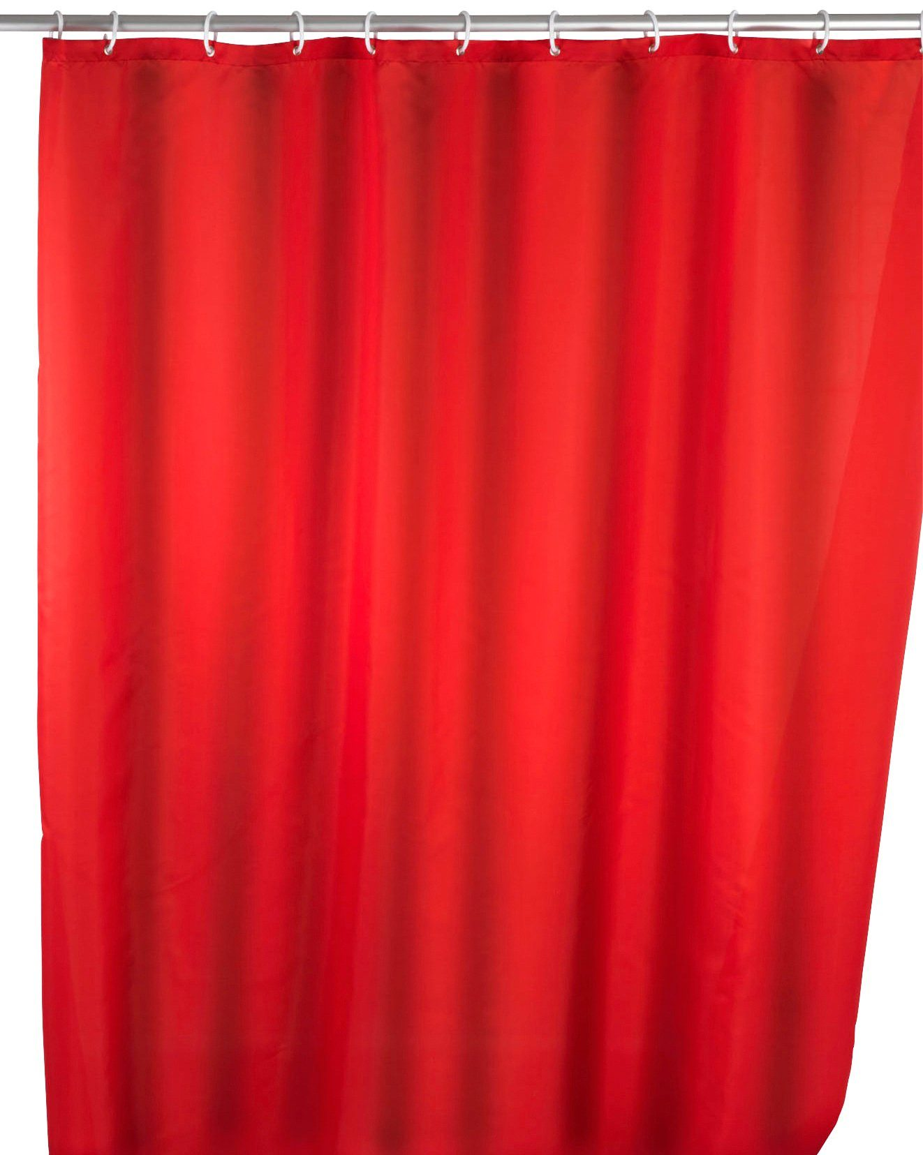Duschvorhang »Uni Red«