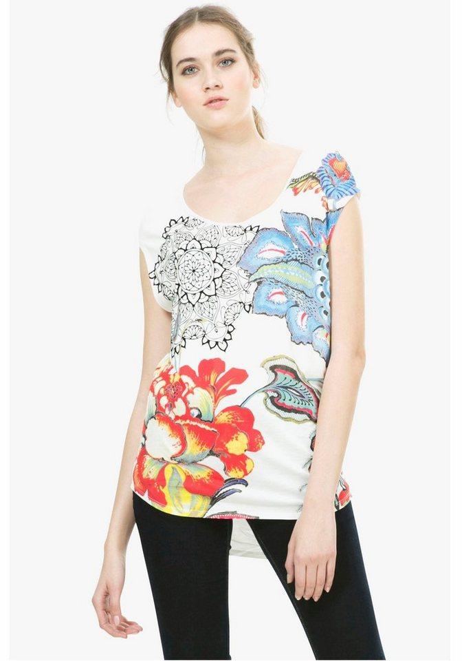 Desigual Print-Shirt »Katerine« in weiß