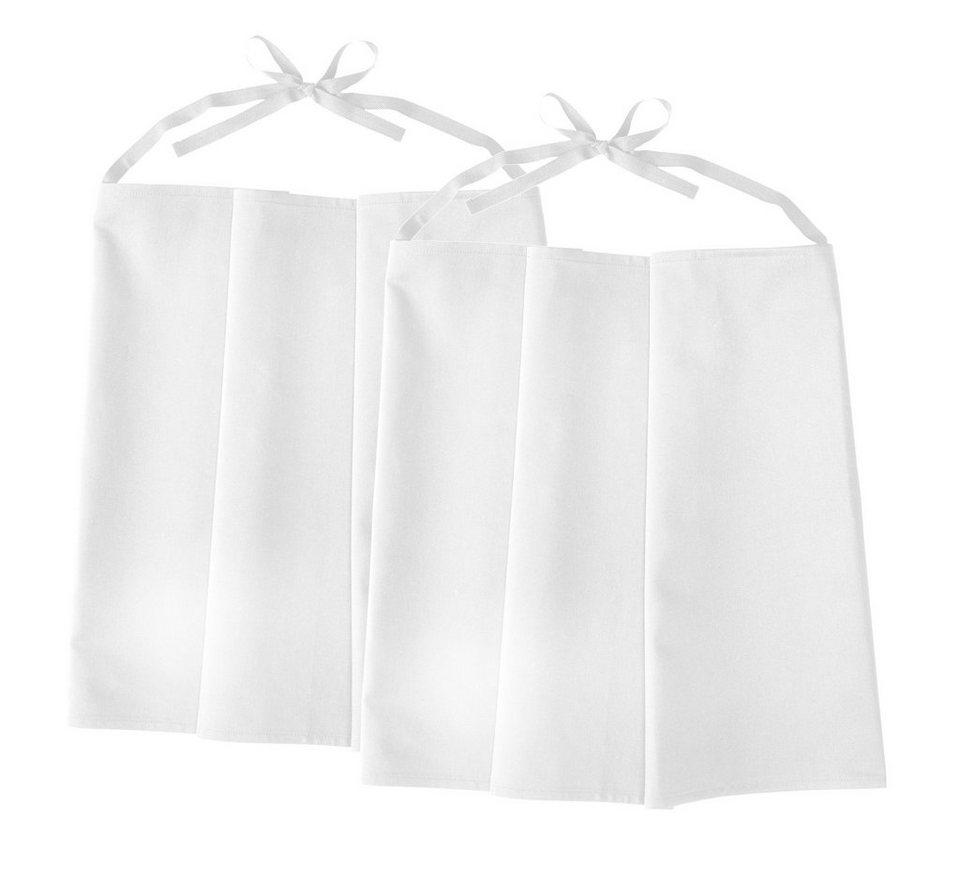 Kochschürze »2er Pack« in weiß