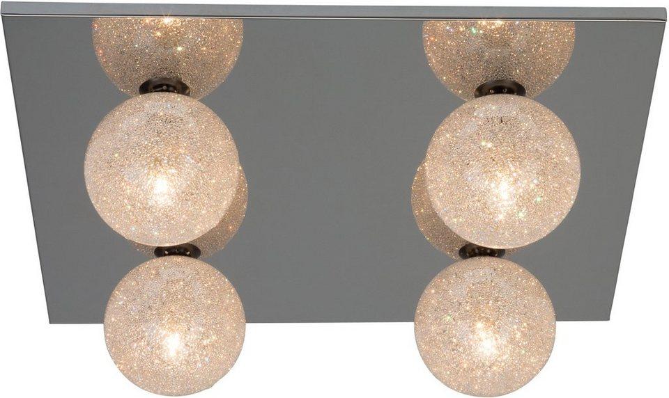 Brilliant Leuchten Deckenleuchte, 4flg., »NOBLE« in chromfarben