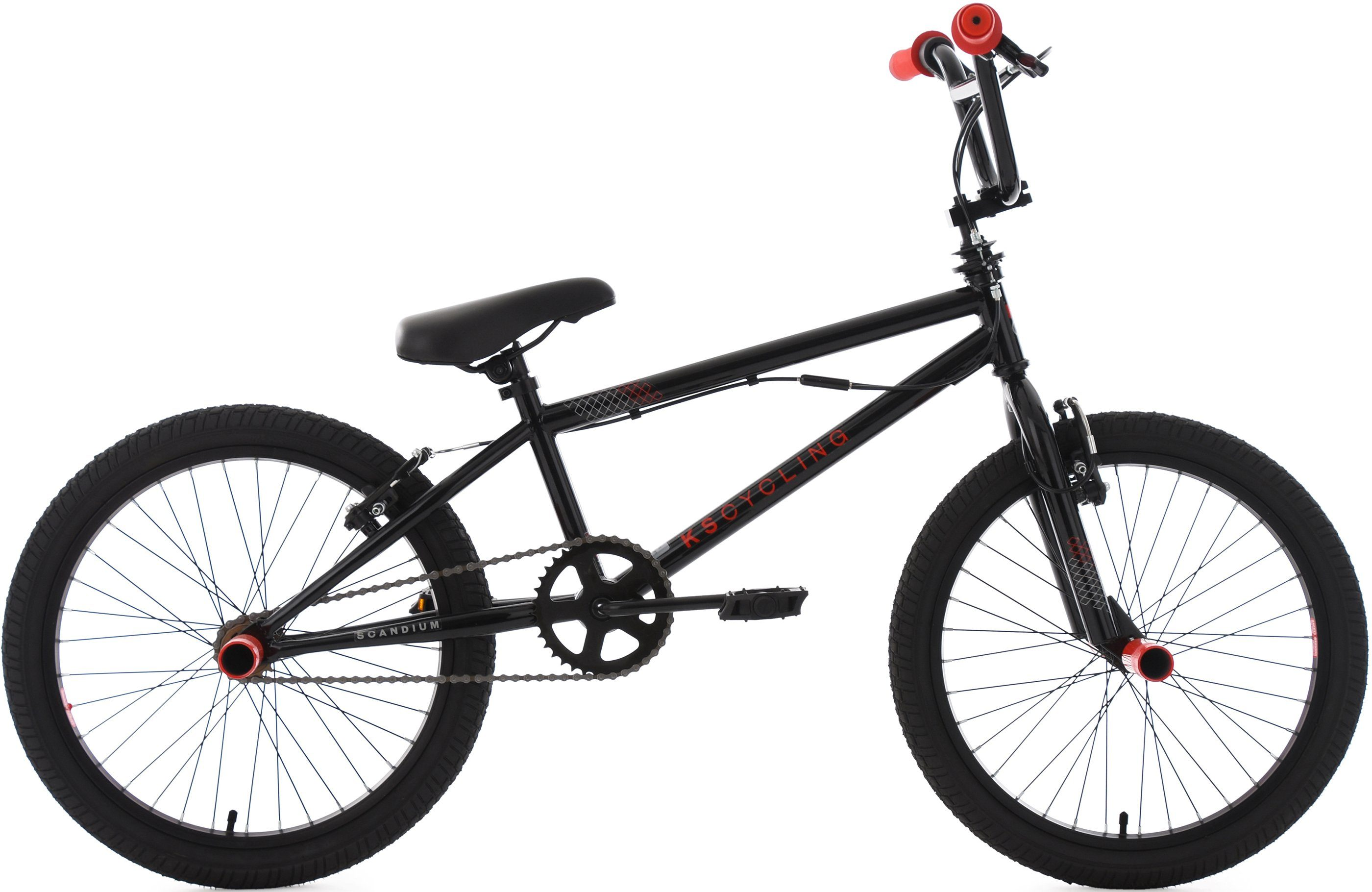 KS Cycling BMX Fahrrad, 20 Zoll, »Scandium«
