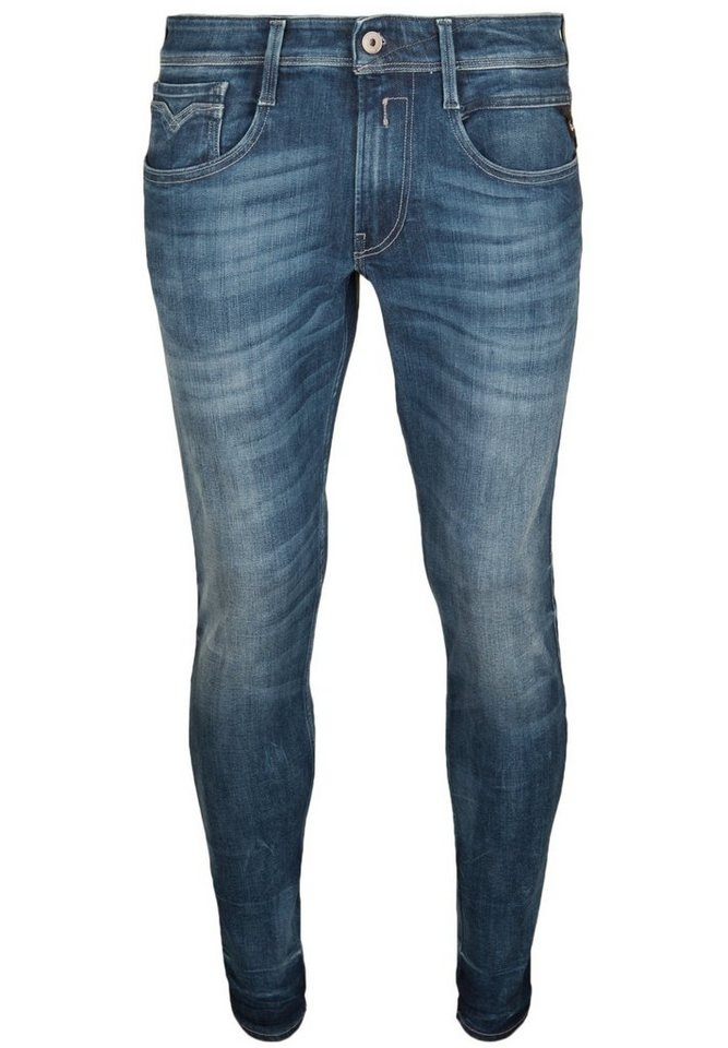 REPLAY Jeans »ANBASS« in blue