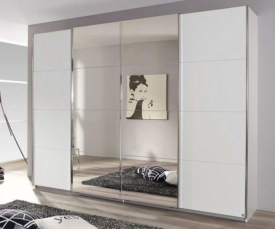 rauch pack s schwebet renschrank mit synchron ffnung. Black Bedroom Furniture Sets. Home Design Ideas