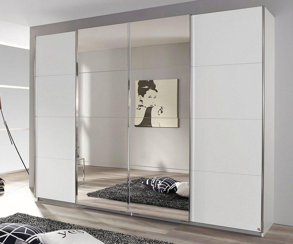 Schrank Weiß Mit Spiegeltüren