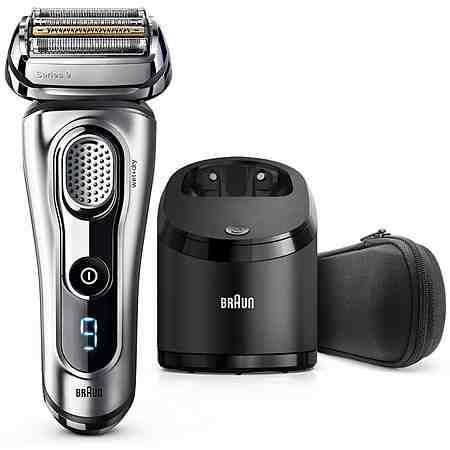 Braun Elektrorasierer Series 9 9290cc, Wet & Dry mit Reinigungsstation und Reise-Etui
