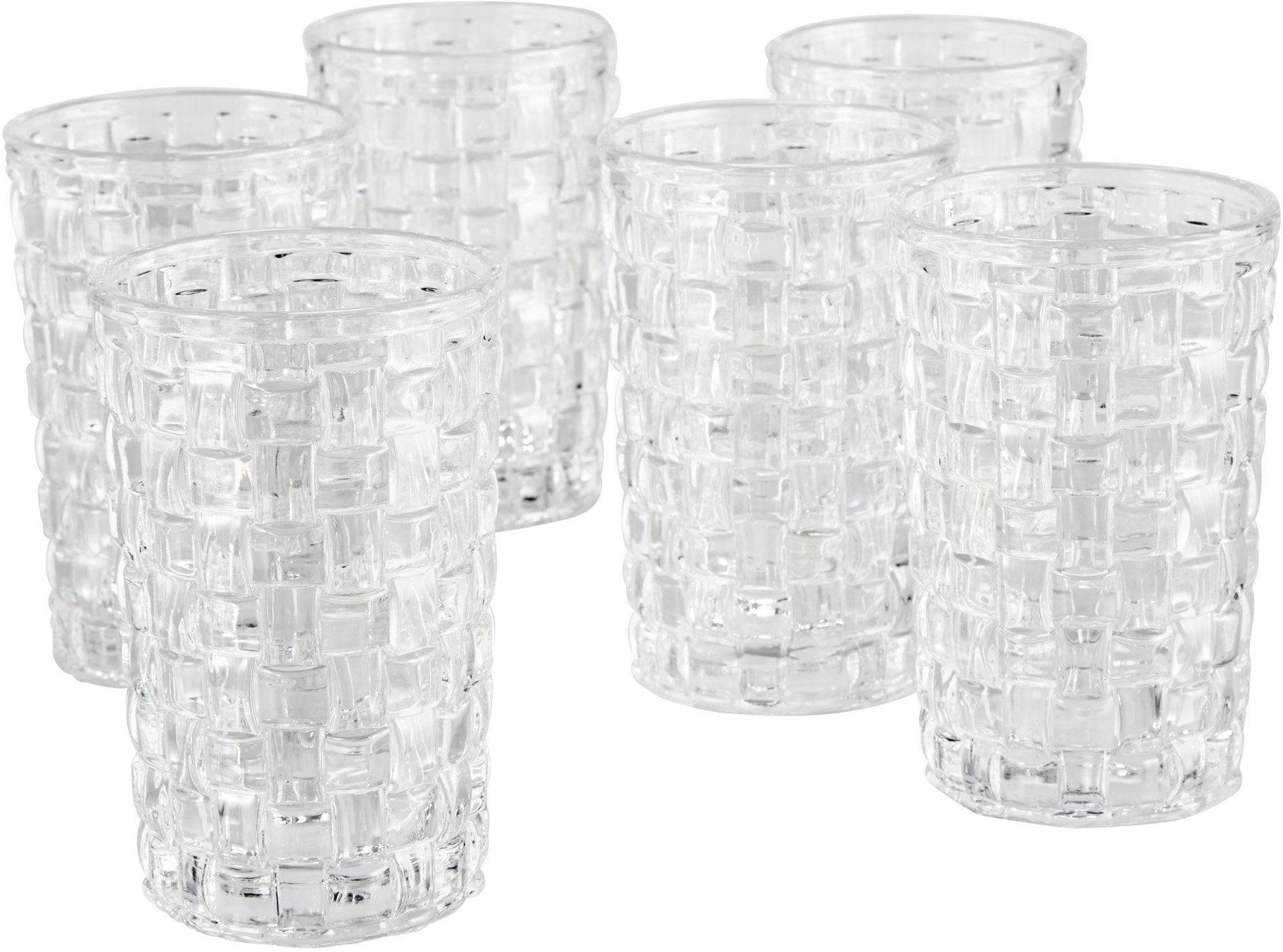 Mailord Gläser-Set, 6-teilig, »Woven«