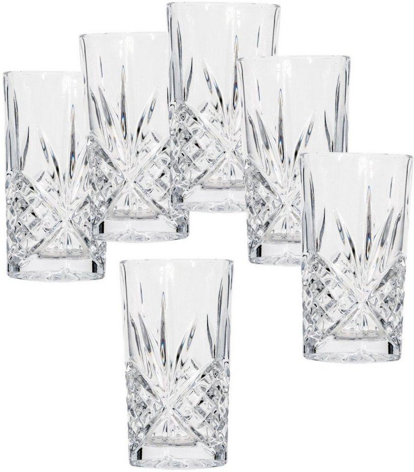 Mailord Gläser-Set, 6-teilig in klar