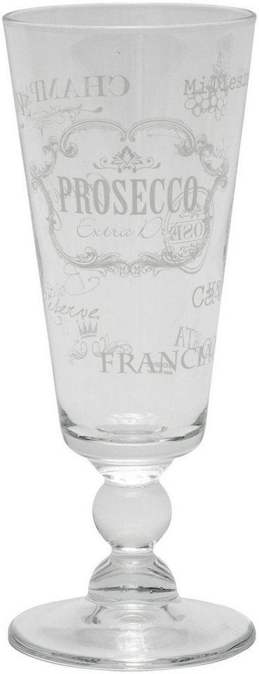 Mailord Set: Sektglas, 6-teilig in klar