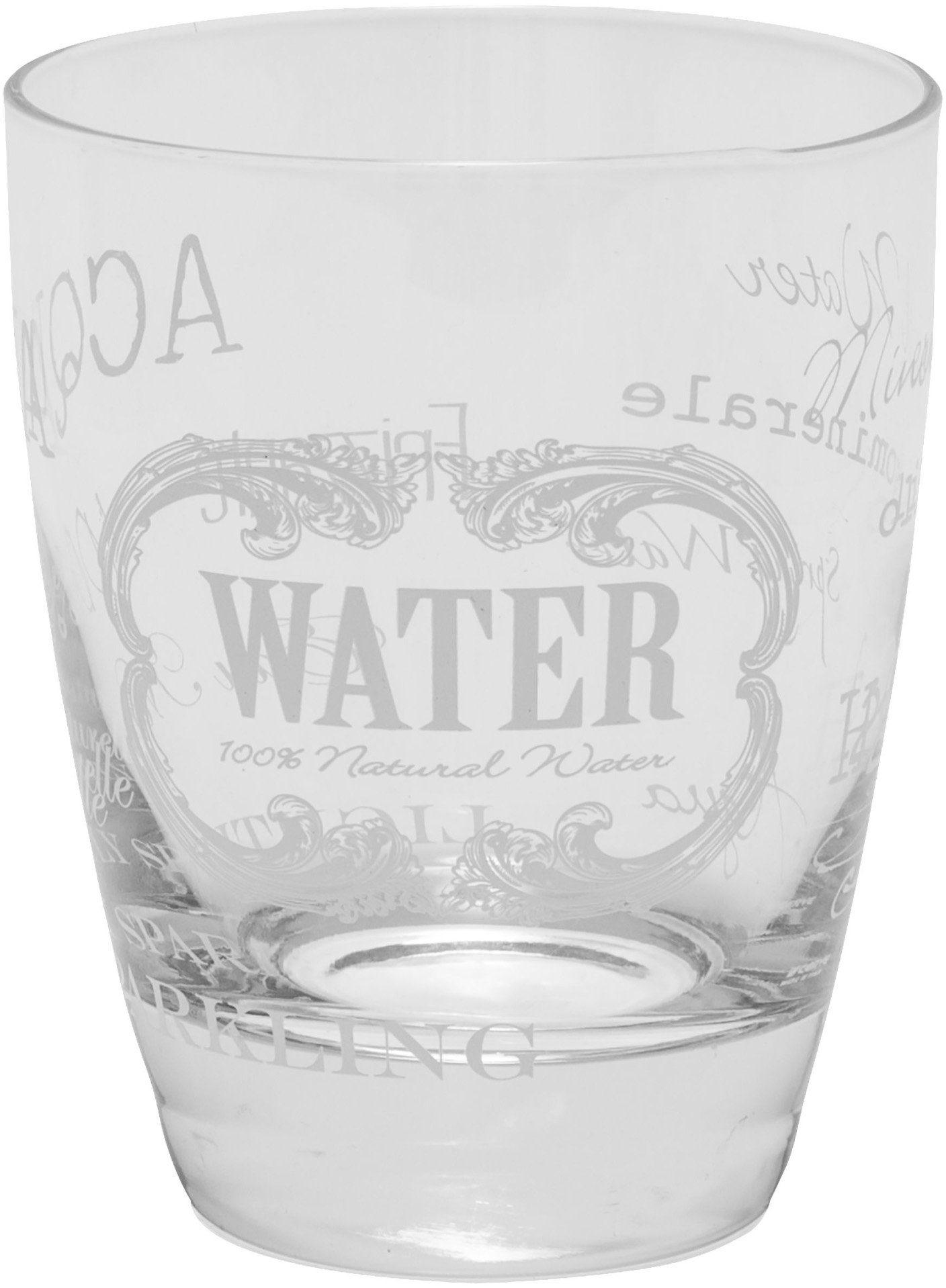 Mailord Set: Wasserglas, 6-teilig
