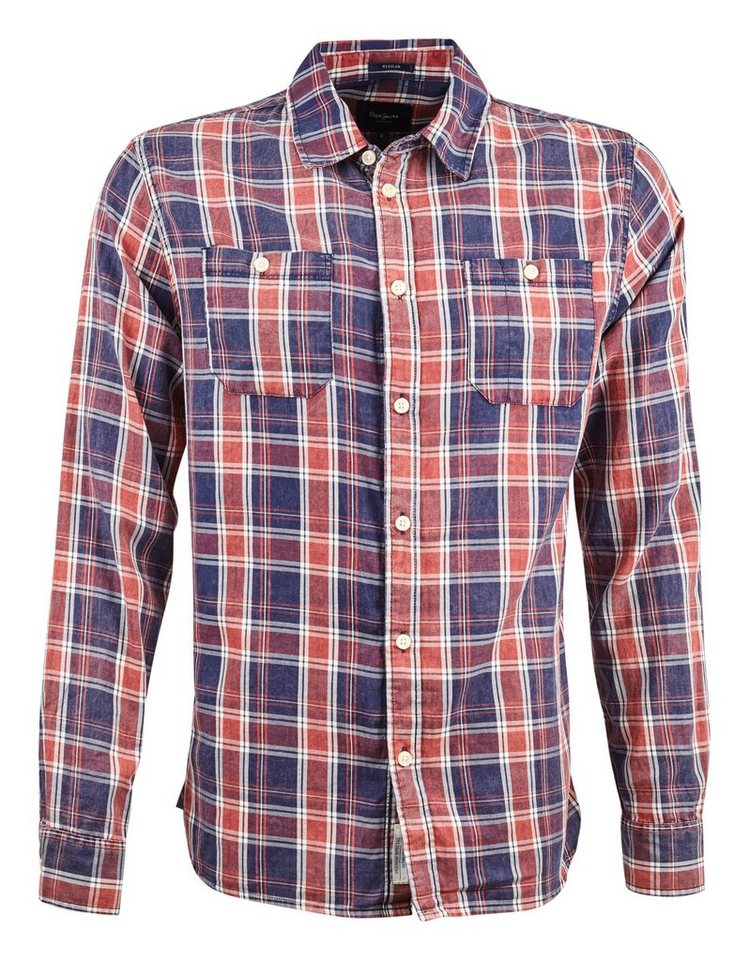 Pepe Jeans Hemd »HILL« in blau