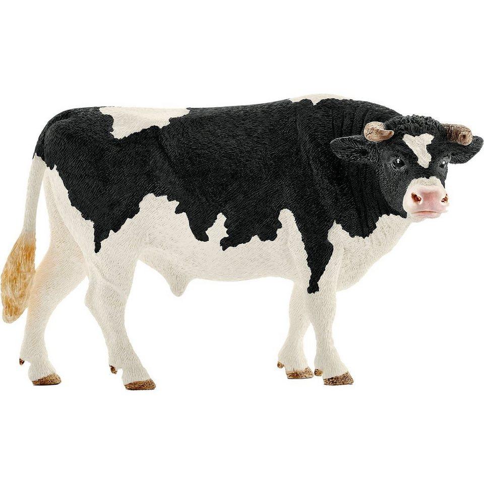 Schleich 13796 Farm World: Bulle Schwarzbunt