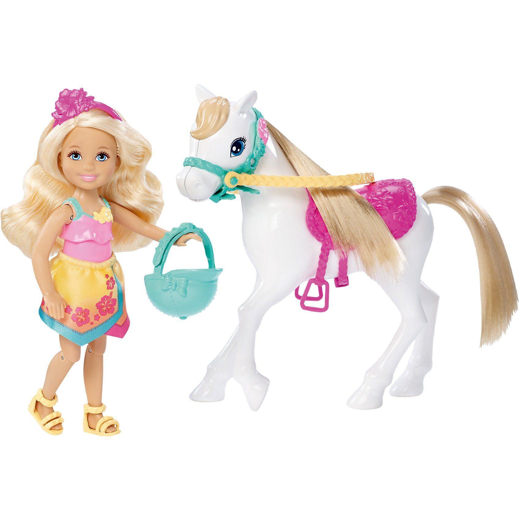 Mattel® Barbie Die große Hundesuche - Chelsea und Pony