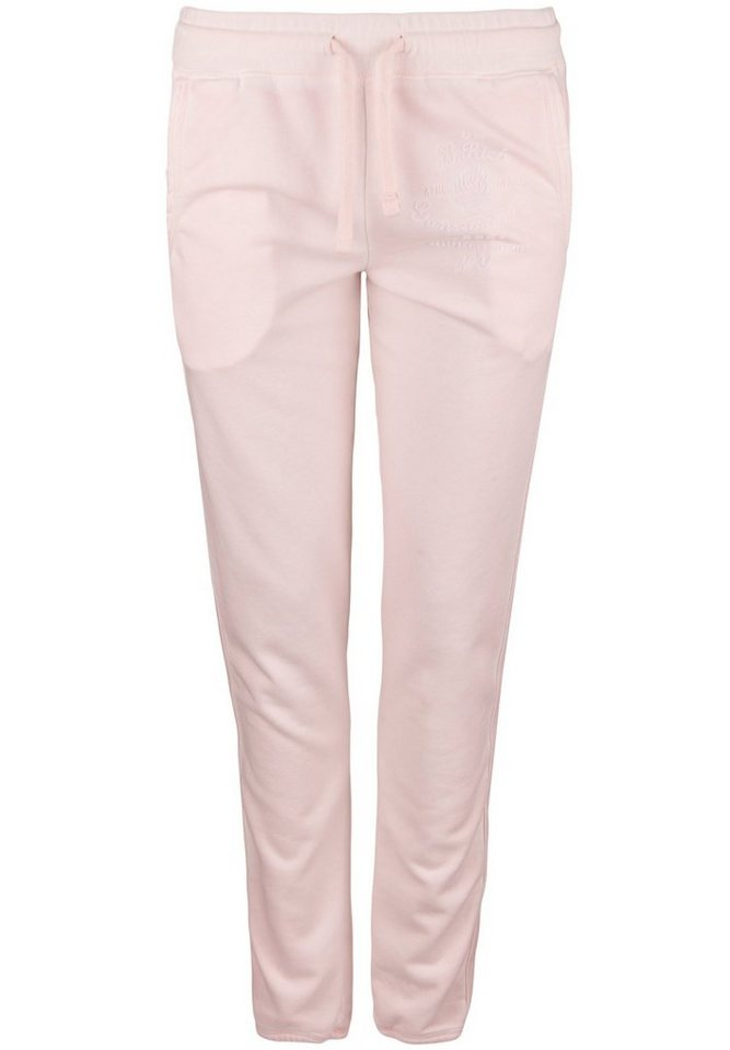Better Rich Sweathose »FLEECE PANT FLAME« in rose