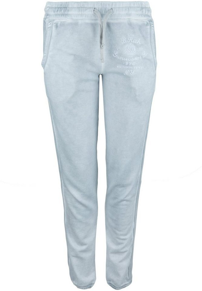 Better Rich Sweathose »FLEECE PANT FLAME« in highrise